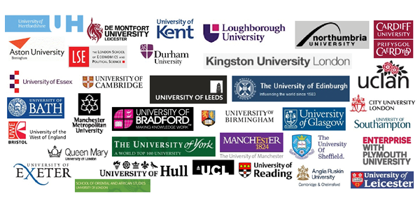 Examples of UK universities using the tool