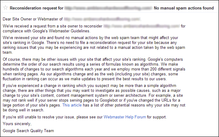 no-manual-spam-actions-found